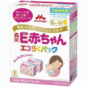 森永乳業 E赤ちゃん エコらくパック つめかえ ...の商品画像