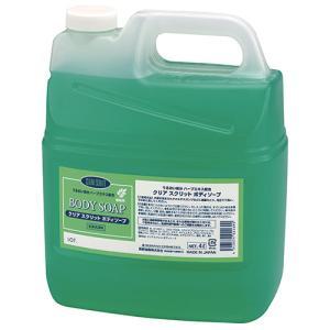 熊野油脂 クリアスクリット ボディソープ 4L 1個|tanomail