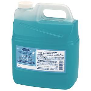 熊野油脂 クリアスクリット リンスインシャンプー 4L 1個|tanomail