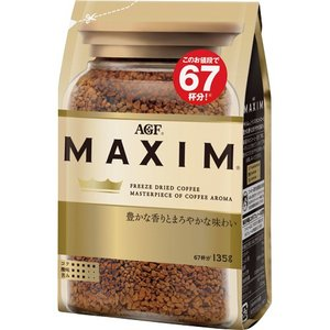 味の素AGF マキシム インスタントコーヒー 135g 1袋...