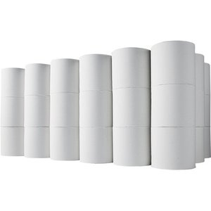TANOSEE トイレットペーパー 無包装 シングル 芯なし 170m 1ケース(48ロール)|tanomail