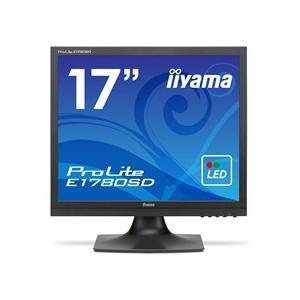 iiyama ProLite 17型スクエア液晶ディスプレイ ノングレア マーベルブラック E1780SD−B1 1台|tanomail