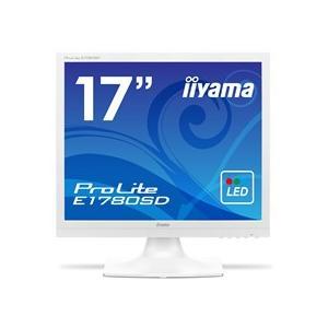 iiyama ProLite 17型スクエア液晶ディスプレイ ノングレア ピュアホワイト E1780SD−W1 1台|tanomail