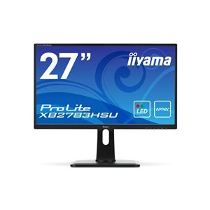 iiyama ProLite 27型ワイド液晶ディスプレイ ノングレア マーベルブラック XB2783HSU−B1 1台|tanomail
