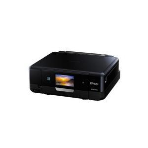 エプソン Colorio インクジェット複合機 A4 ブラック EP−808AB