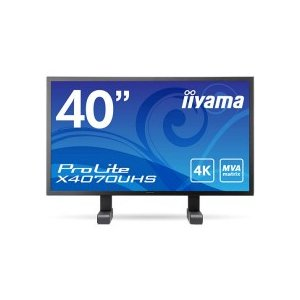 iiyama ProLite 40型ワイド UltraHD 4K2K解像度 5入力 10bitカラー マーベルブラック X4070UHS−B1|tanomail
