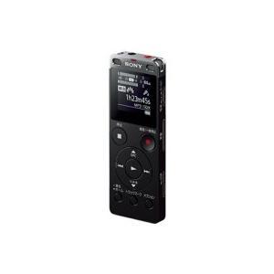 ソニー ステレオICレコーダー FMチューナー付 4GB ブラック ICD−UX560F/B 1台|tanomail