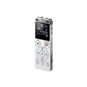 ソニー ステレオICレコーダー FMチューナー付 4GB シルバー ICD−UX560F/S 1台|tanomail