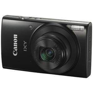 キヤノン デジタルカメラ IXY 190 ブラック 1086C001 1台|tanomail