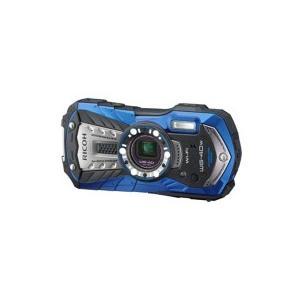 リコー デジタルカメラ WG−40W ブルー 151990 1台 (お取寄せ品)|tanomail