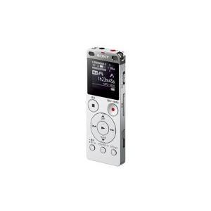 ソニー ステレオICレコーダー FMチューナー付 8GB シルバー ICD−UX565F/S 1台(お取寄せ品)|tanomail