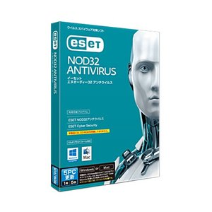 キヤノンITソリューションズ ESET NOD32 アンチウイルス Windows/Mac対応 5PC 更新 3162V13901 1本|tanomail