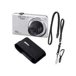 カシオ デジタルカメラ EXILIM ケース・ストラップ付 シルバー EX−Z920SRSET 1セット|tanomail