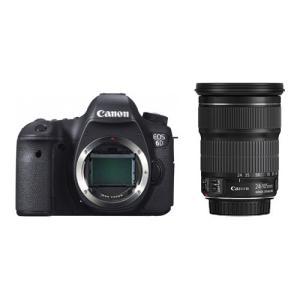 キヤノン デジタル一眼レフカメラ EOS 6D(WG)・EF24−105 IS STM レンズキット 8035B197 1台|tanomail