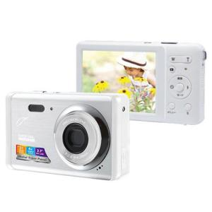ジョワイユ デジタルカメラ シルバーホワイト JOY500FESWH 1台|tanomail