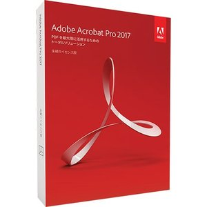 アドビシステムズ Adobe Acrobat Pro 2017 日本語版 Windows版 1本 (お取寄せ品)|tanomail