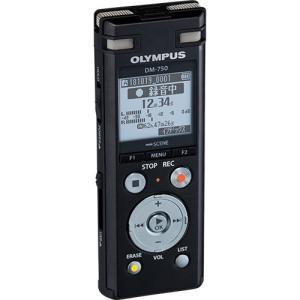オリンパス ICレコーダー Voice Trek 4GB ブラック DM−750 BLK 1台 (お取寄せ品) ぱーそなるたのめーる
