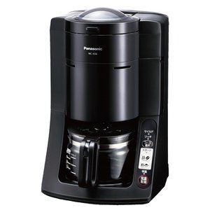 メーカー:パナソニック   品番:NC-A56-K   豆も挽けるコーヒーメーカー。