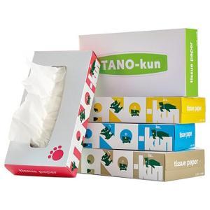 ティッシュペーパー TANO−kun 160組/箱 1パック(5箱) tanomail