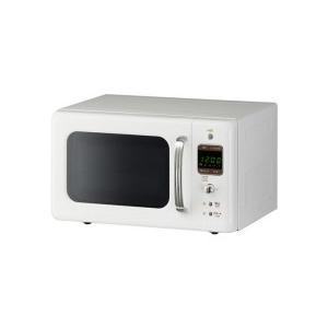 大宇販売 レトロスタイル電子レンジ 50Hz地域用 クリーム...