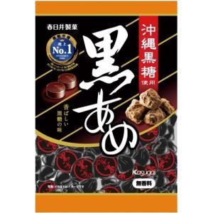 メーカー:春日井製菓   品番:75195   沖縄産の黒糖を使用し、風味豊かで香ばしい黒飴。