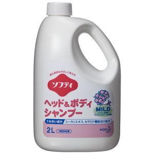 メーカー:花王   品番:507662   低刺激性洗浄成分で髪もお肌もやさしく洗い上げます。全身シ...
