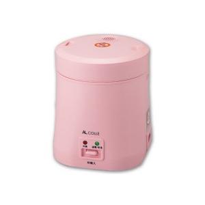 アルファックス・コイズミ アルコレ ミニライスクッカー ピンク ARC−103/P 1台|tanomail