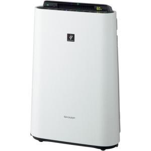 メーカー:シャープ  品番:KC-H50-W  加湿もできて空気環境をしっかり守るスリムタイプ。
