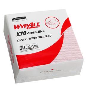 日本製紙クレシア ワイプオールX70 4つ折り 60570 1パック(50枚)