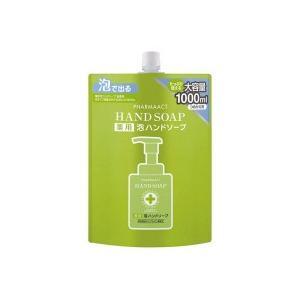 熊野油脂 ファーマアクト 薬用 泡ハンドソープ 詰替 1000ml 1個|tanomail