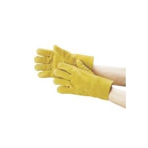 カミキ 防振手袋 天然牛床革製 T−2 1双 (お取寄せ品)