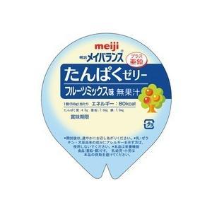 明治 メイバランスたんぱくゼリー フルーツミックス味 58g 1セット(24個) (お取寄せ品)|tanomail