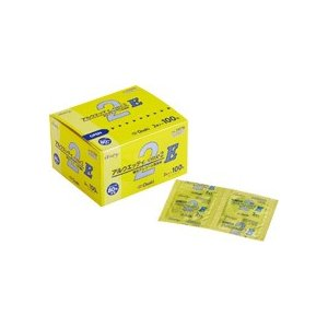 メーカー:オオサキメディカル 品番:31078 注射のときなどの消毒に便利な、1包2枚入タイプのエタ...