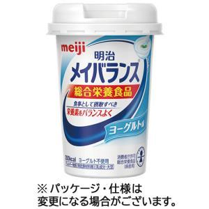 明治 メイバランスMiniカップ ヨーグルト味 125ml 1セット(24本) (お取寄せ品)