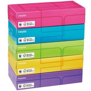 王子ネピア ネピア ティシュペーパー Optimistic 200組/箱 1セット(60箱:5箱×12パック)|tanomail