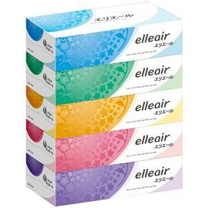 大王製紙 エリエールティシュー 180組/箱 1セット(60箱:5箱×12パック)|tanomail