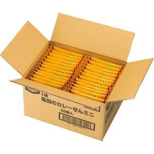 メーカー:亀田製菓  品番:410581  特製スパイス使用の一口サイズのカレーせん。