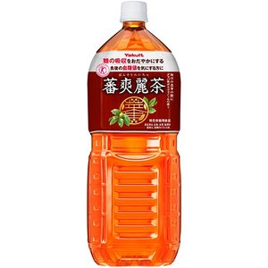 ヤクルト 蕃爽麗茶 2000ml ペットボトル 1ケース(6本)