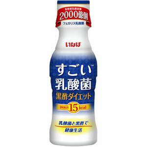 メーカー:いなば食品  品番:557389  1本15kcal。乳酸菌が2000億個入ったドリンクで...