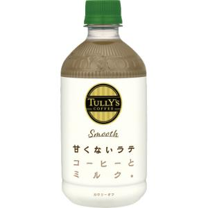 タリーズコーヒー スムースラテ 500ml ペットボトル 1ケース(24本)
