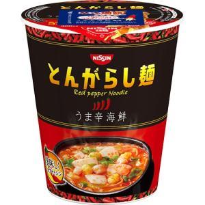 メーカー:日清食品  品番:235522  海鮮のうまみがきいたうま辛なとんがらし麺