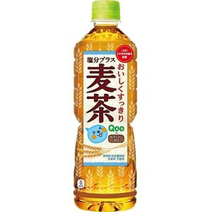 メーカー:コカ・コーラ   品番:49866   すっきりおいしくて、さらに塩分補給できる麦茶 (ノ...
