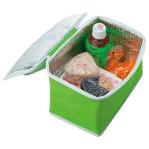 メーカー:オリジナル   品番:ORFB-2W-GR   軽くて折りたためる便利な保冷バッグ