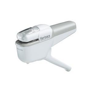 コクヨ 針なしステープラー(ハリナックス) ハンディタイプ 10枚とじ 白 SLN−MSH110W 1個|tanomail