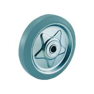 TRUSCO グレーゴム車輪 φ200 TW−200G 1個(お取寄せ品)