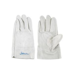 シモン 牛床革手袋 107BH 当付 4112320 1双 (メーカー直送)の画像