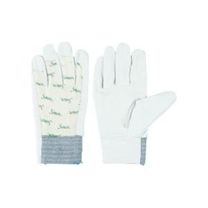 シモン 牛本革手袋 126白 S 4120067 1双 (メーカー直送)の画像
