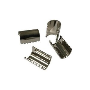 ユタカメイク 金具 端末爪 8mm×13mm KM−11 1袋(4個) (お取寄せ品)|tanomail