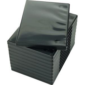 ナガセテクノサービス CD/DVD M−ロックケース ブラック FD1001TLB10 1セット(50枚:10枚×5パック)|tanomail