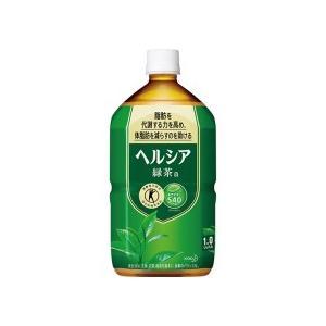 花王 ヘルシア緑茶 1L ペットボトル 1ケース(12本)|tanomail